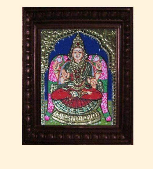 Lakshmi 11 - Dhana Lakshmi - 10x8in (14x12in with frame)