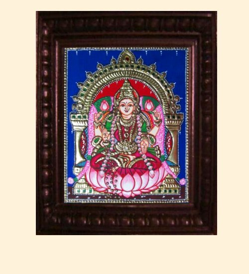 Lakshmi 12 - Dhana Lakshmi - 10x8in (14x12in with frame)