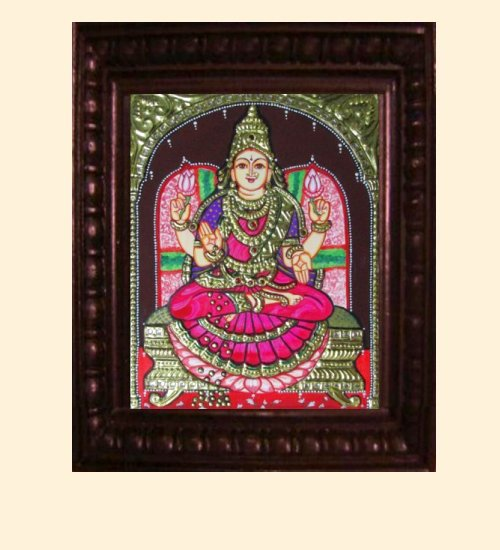 Lakshmi 13 - Dhana Lakshmi - 10x8in (14x12in with frame)