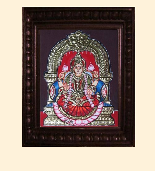 Lakshmi 14 - Dhana Lakshmi - 10x8in (14x12in with frame)