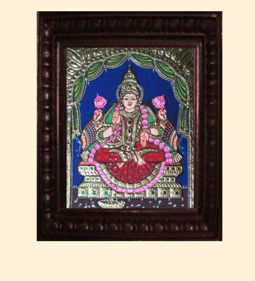 Lakshmi 15 - Dhana Lakshmi - 10x8in (14x12in with frame)