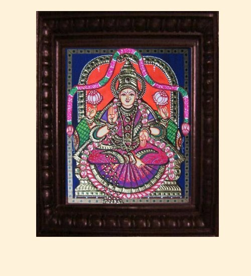 Lakshmi 16 - Dhana Lakshmi - 10x8in (14x12in with frame)