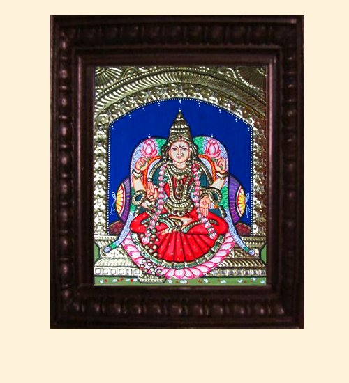Lakshmi 17 - Dhana Lakshmi - 10x8in (14x12in with frame)