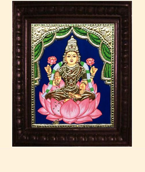 Lakshmi 18 - 15x12in - 19 x 16in (framed)