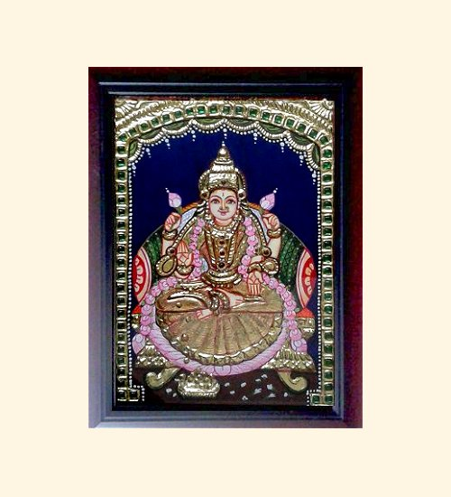 Lakshmi 30 - DhanaLakshmi - 8x6in (without frame)