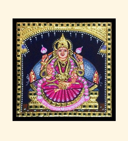 Lakshmi 34 - 7x7in (without frame)