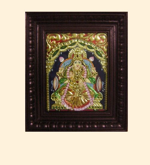 Lakshmi 3 - Dhana Lakshmi - 10x8in (14x12in with frame)