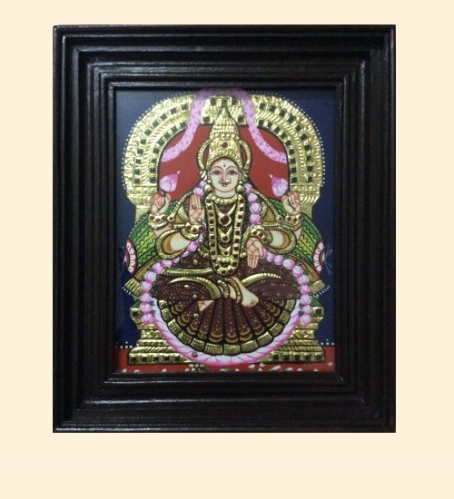 Lakshmi 42a - DhanaLakshmi - 10x8in (without frame)