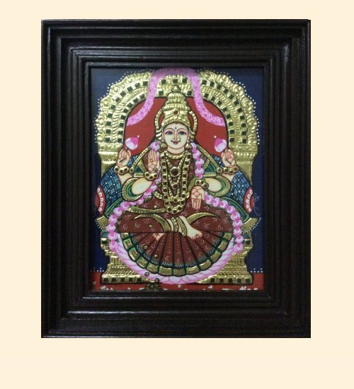 Lakshmi 42b - DhanaLakshmi - 10x8in (without frame)