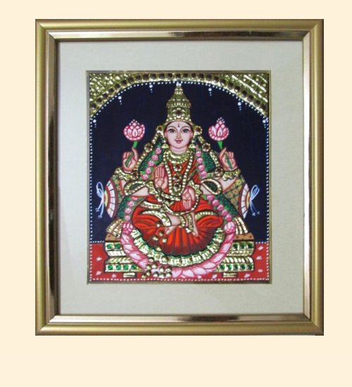 Lakshmi 7 - 7x6in ( 10x9 in with frame)