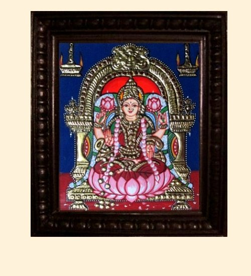 Lakshmi 8 - Dhana Lakshmi - 10x8in (14x12in with frame)